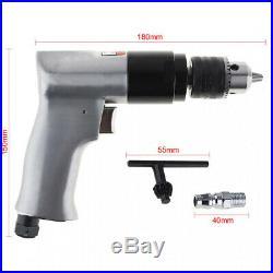 10x3/8 Inch 1800 Rpm High-Speed Cordless Pistol Type Pneumatic Drill Reversibl