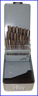 11V299 Chucking Reamer Sets, 1/16In- 1/2In, 29pc