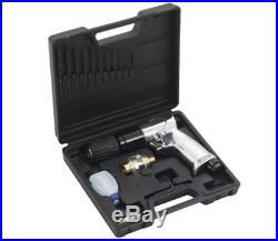 15 Piece Air Drill Kit Chuck Keyless Reversible Draper Desoutter Straight Pistol