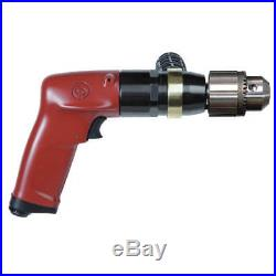 1.0 HP Industrial Duty Keyed Air Drill, Pistol Style, 1/2 Chuck Size