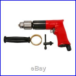 1/2'' Air Drill Reversible Pneumatic Power Tools Pistol Type for Drilling 500RPM