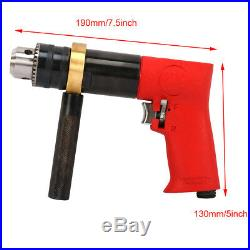 1/2 Chuck Pistol Type Reversible Air Drill Pneumatic Power Tool For Drilling