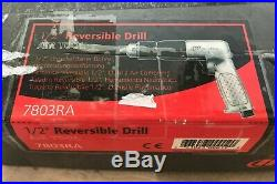 1/2 Ingersoll Rand reversible air drill #7803RA BRAND NEW