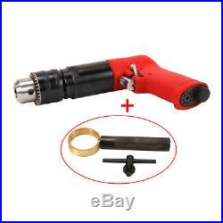1/2 Pistol Type Air Drill Reversible Self-locking Pneumatic Power Tool 500RPM