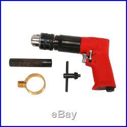 1/2 Pistol Type Air Drill Reversible Self-locking Pneumatic Tool 500RPM New