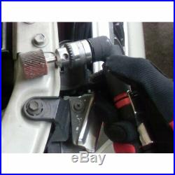 1/4 inch Mini Right Angle Air Drill, Keyed Jacobs Chuck, Non-reversible 4500 rpm