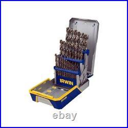 29 Pc M-35 Metal Index Drill Bit Set Irwin / Hanson / Vise Grip IRW3018002