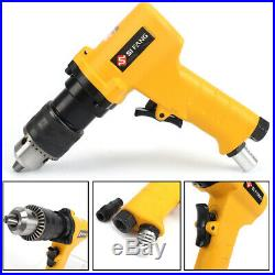 3/8Collet Pistol Type Reversible Air Drill Professional Drilling Pneumatic Tool
