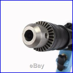 3/8Industrial Cordless Pistol Type Pneumatic Drill Reversible Air Drilling Tool