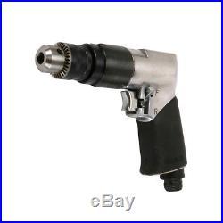 3/8 Air Drill Pneumatic Reversible Power Compressor Auto Repair Tool 1800RPM