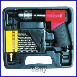 3/8 Reversible Pistol Air Drill Metric Kit 2000 rpm