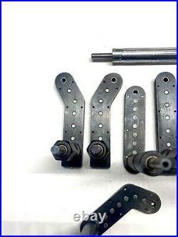 9 Pc Zephyr 10-32 Threaded Master Pancake Drill Attachment Set Aircraft Tool