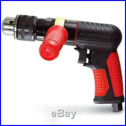 Aeropro 1/2 REVERSIBLE AIR DRILL RP17107 114L/M 700Rpm 2HP Light Composite Body