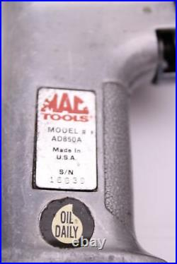 Air Drill 1/2 Drive, MAC Tools ad850A, Made in the USA