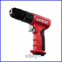 Aircat 4338 3/8 Drive Reversible Red Composite Drill