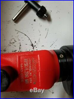 Aircraft tools Snap On 1/2 Air Drill PDR5000A reverse 450 rpm