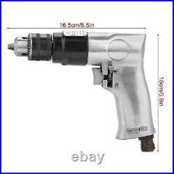 Akozon Pneumatic Drill, Rotation Air Drill Tool High-speed Reversible for Hol
