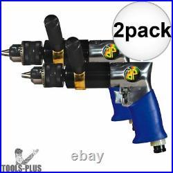 Astro Pneumatic Tool 527C 1/2 Heavy Duty Reversible Pneumatic Drill 2x New