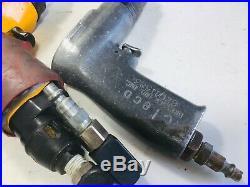 Atlas Copco, Rockwell, Cleco Pneumatic Drill Lot 2600 & 500 RPM Aircraft Tool