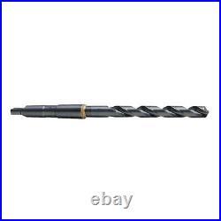 CHICAGO-LATROBE 53180 Taper Shank Drill, 1 1/4, #4MT, Blk Oxide