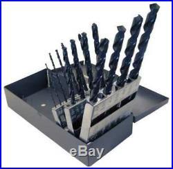 CHICAGO-LATROBE 69884 Taper Drill Bit Set, List# 120,15 Pc