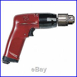 CHICAGO PNEUMATIC Air Drill, Industrial, Pistol, 3/8 In, CP1117P26