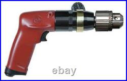 CHICAGO PNEUMATIC CP1117P05 Drill, Air-Powered, Pistol Grip, 3/8 in