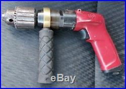 CHICAGO PNEUMATIC CP1117P09 1/2 Pistol Air Drill 900 rpm