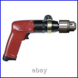 CHICAGO PNEUMATIC CP1117P09 Drill, Air-Powered, Pistol Grip, 3/8 in