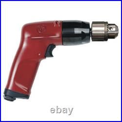 CHICAGO PNEUMATIC CP1117P26 Drill, Air-Powered, Pistol Grip, 3/8 in