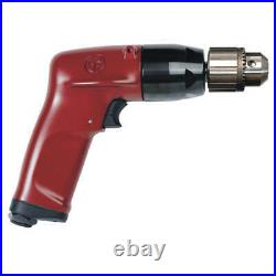 CHICAGO PNEUMATIC CP1117P60 Drill, Air-Powered, Pistol Grip, 3/8 in