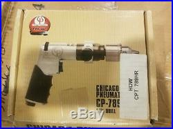 CHICAGO PNEUMATIC CP 1/2 Reversible Pistol Air Drill 500 RPM CP789HR NEW