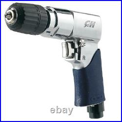 Campbell Air Drill Reversible Durable Keyless Chuck Wood Metal Drilling Tool New