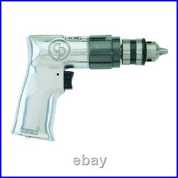 Chicago Pneumatic 3/8 in. Keyed Chuck Air Drill Driver 785 New