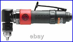Chicago Pneumatic CP879C Angled Composite Reversible Air Drill 3/8-Inch Chuck