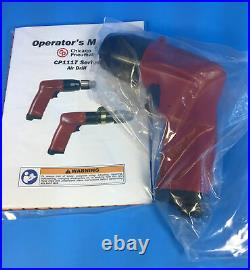 Chicago Pneumatic Cp1117p26 3/8 Pistol Air Drill 2600 Rpm BASE ONLY