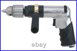 Chicago Pneumatic Cp789hr 1/2 Reversible Pistol Air Drill 500 Rpm