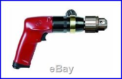 Chicago Pneumatic Tool CP1117P09 Heavy Duty 1 HP 900 RPM Industrial Drill wit