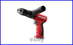 Composite 1/2 Reversible Drill 400 RPM Free Speed Feather Trigger Keyed Chuck