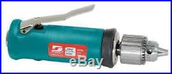 DYNABRADE 53037 Air Drill, Industrial, In-Line, 1/4 In
