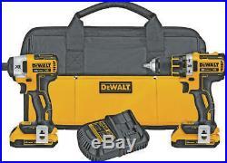 Dewalt DCK283D2 20v brushless combo FREE SHIPPING