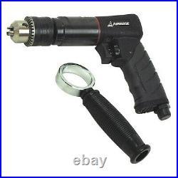 EMAX EATDR05S1P Air Drill, Reversible, Industrial, 1/2 In, 6CFM