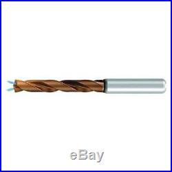 EMUGE TA2145240913 Jobber Drill, Solid Carbide, 23/64
