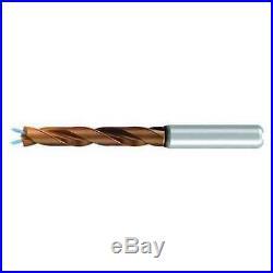 EMUGE TA2145241111 Jobber Drill, Solid Carbide, 7/16