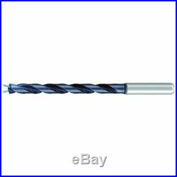 EMUGE TA2233440556 Taper Length Drill, Solid Carbide, 7/32