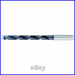 EMUGE TA2233440595 Taper Length Drill, Solid Carbide, 15/64