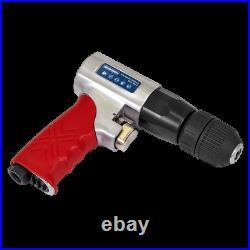GSA241 Sealey 10mm Reversible Air Drill with Keyless Chuck Drills