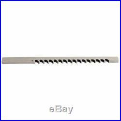 HASSAY SAVAGE CO. 11307 Keyway Broach, III, W 7mm, Cut L 2-1/2 In