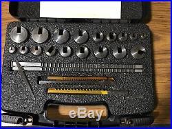 HASSAY SAVAGE CO. 15440 Keyway Broach Set, #40 Metric