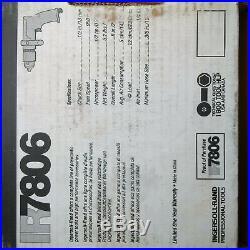 IR-7806 1/2 hp 950 rpm air drill